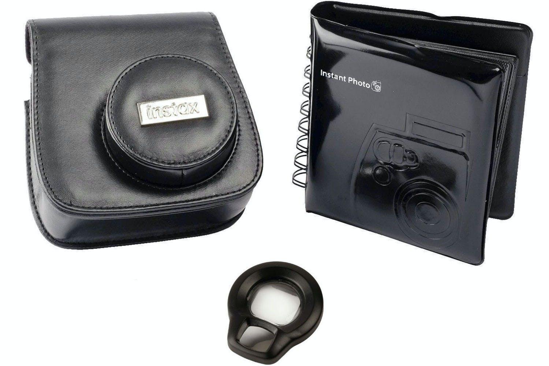Fujifilm Instax Mini 8 Accessory Kit | Black
