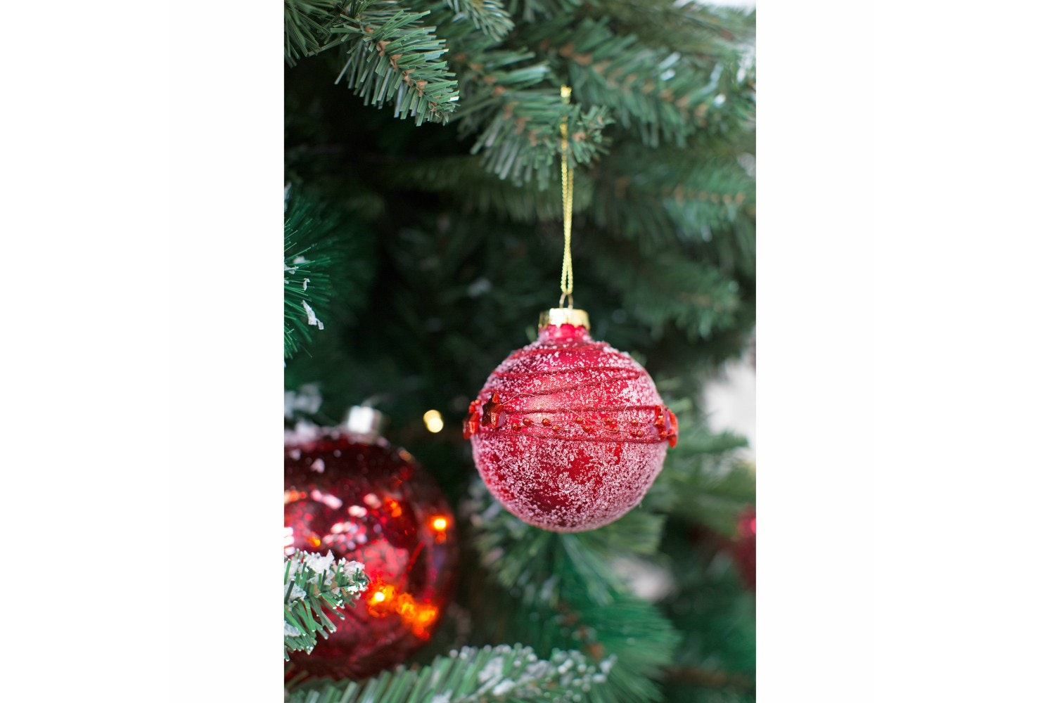 Xmas Ball Glass |Red