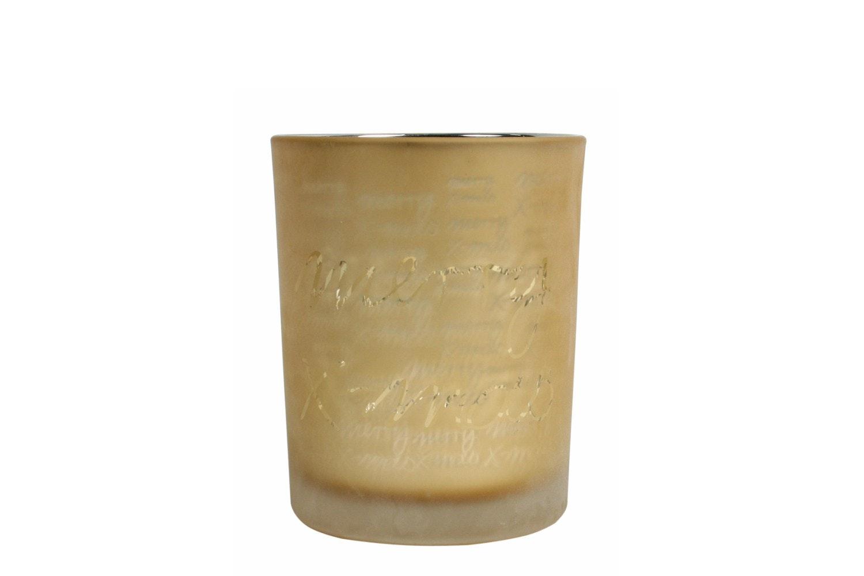Amber Glow Gold Glass | 12.5CM