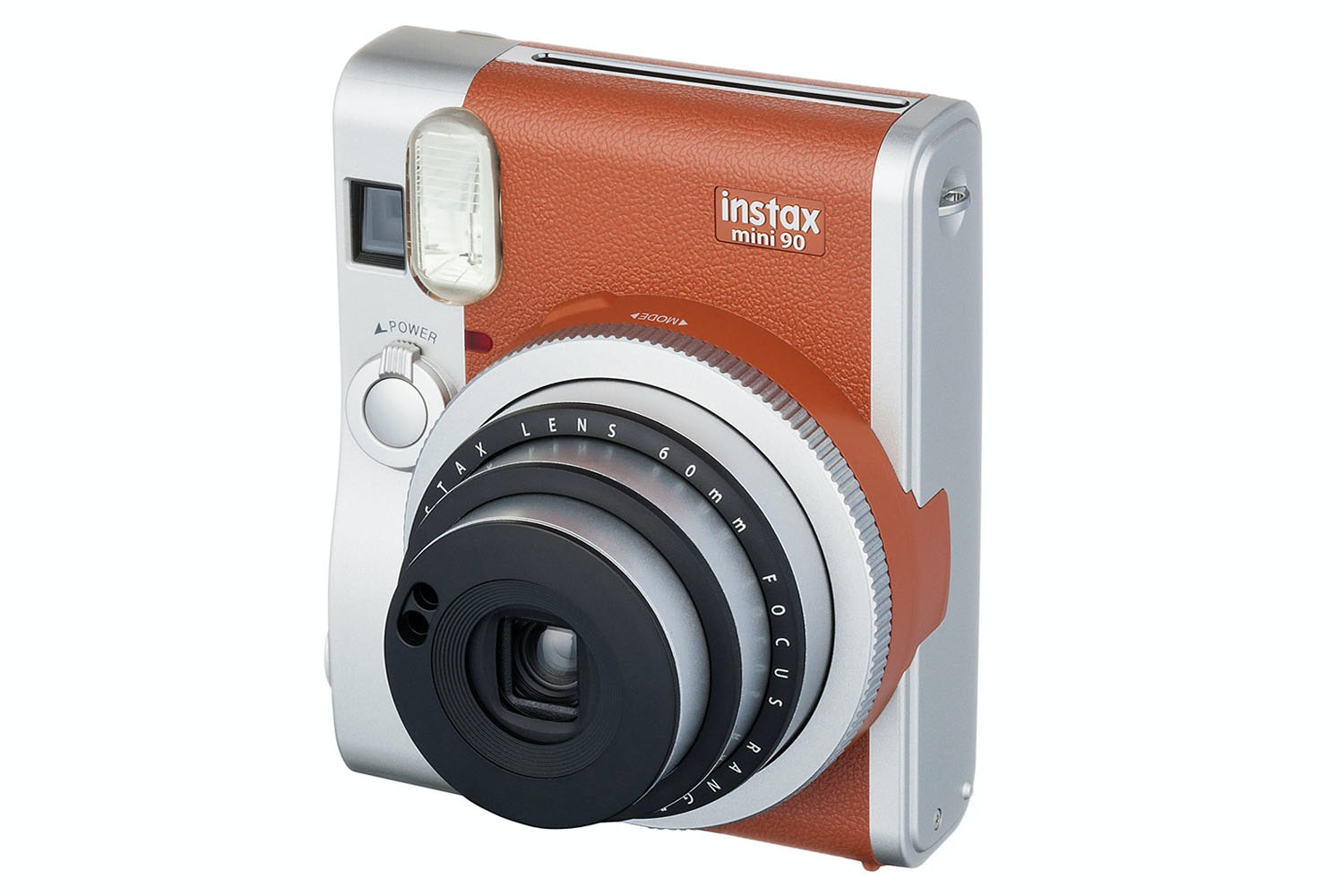 Fujifilm Instax Mini 90 Instant Camera with 10 Shots | Brown