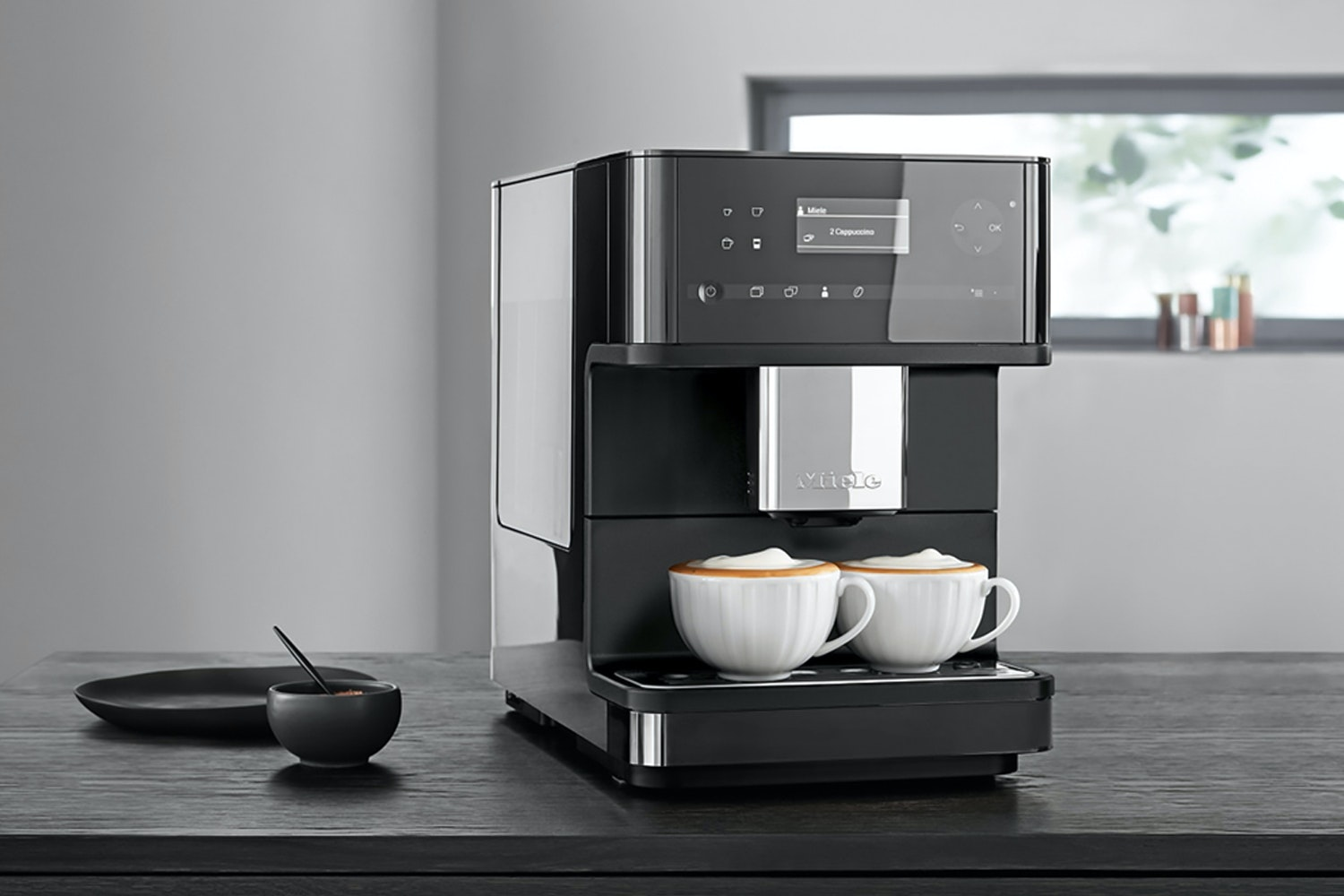 Miele Bean 2 Cup Coffee Machine | CM6150 | Black