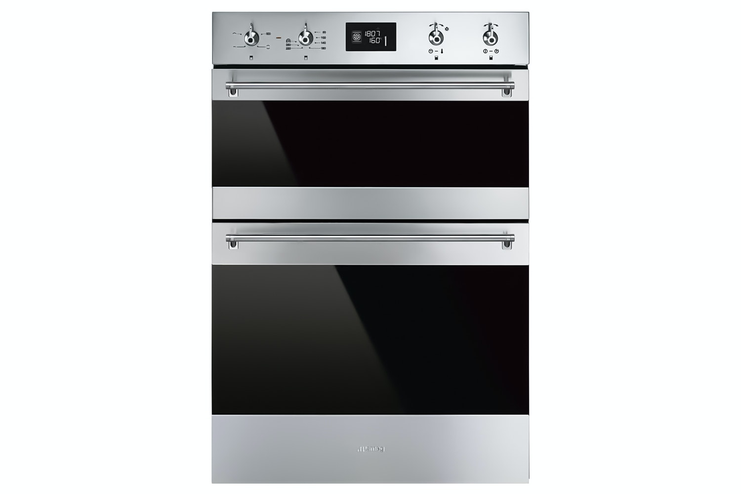 Smeg Built In Double Oven | Stainless Steel