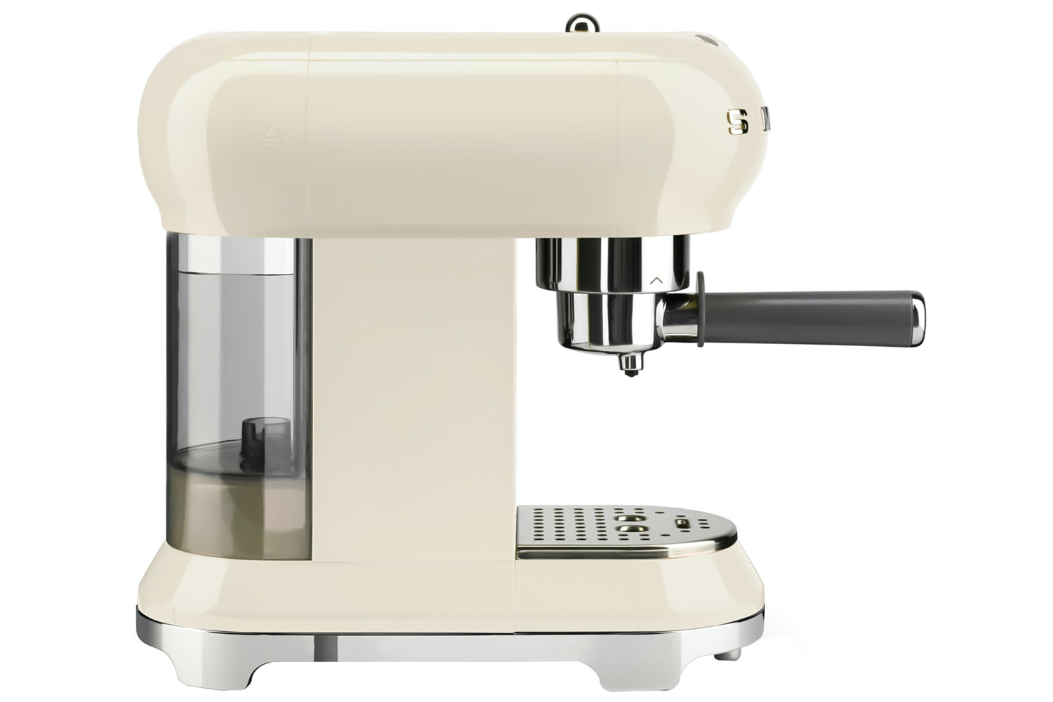 Smeg Retro Style Espresso Coffee Machine | Cream