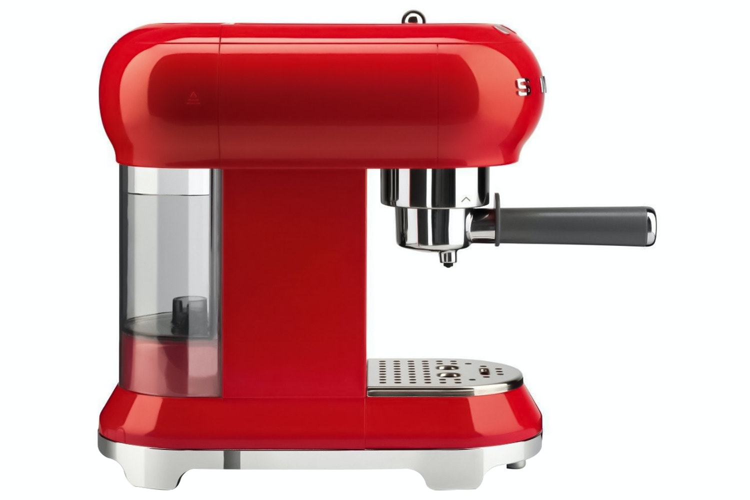 Smeg Retro Style Espresso Coffee Machine | ECF01RDUK | Red