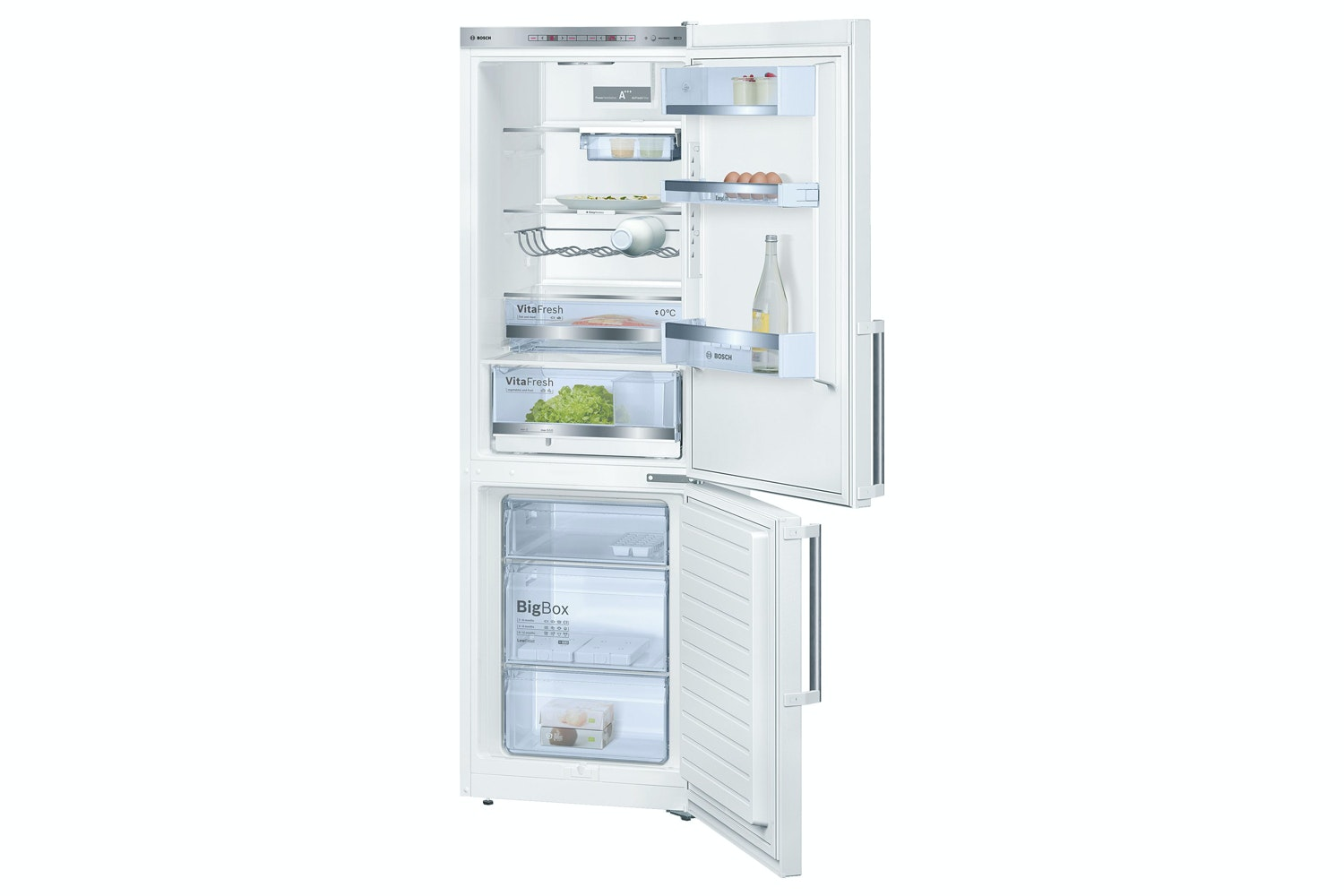 Bosch Serie 6 Freestanding Fridge Freezer | KGE36BW41G