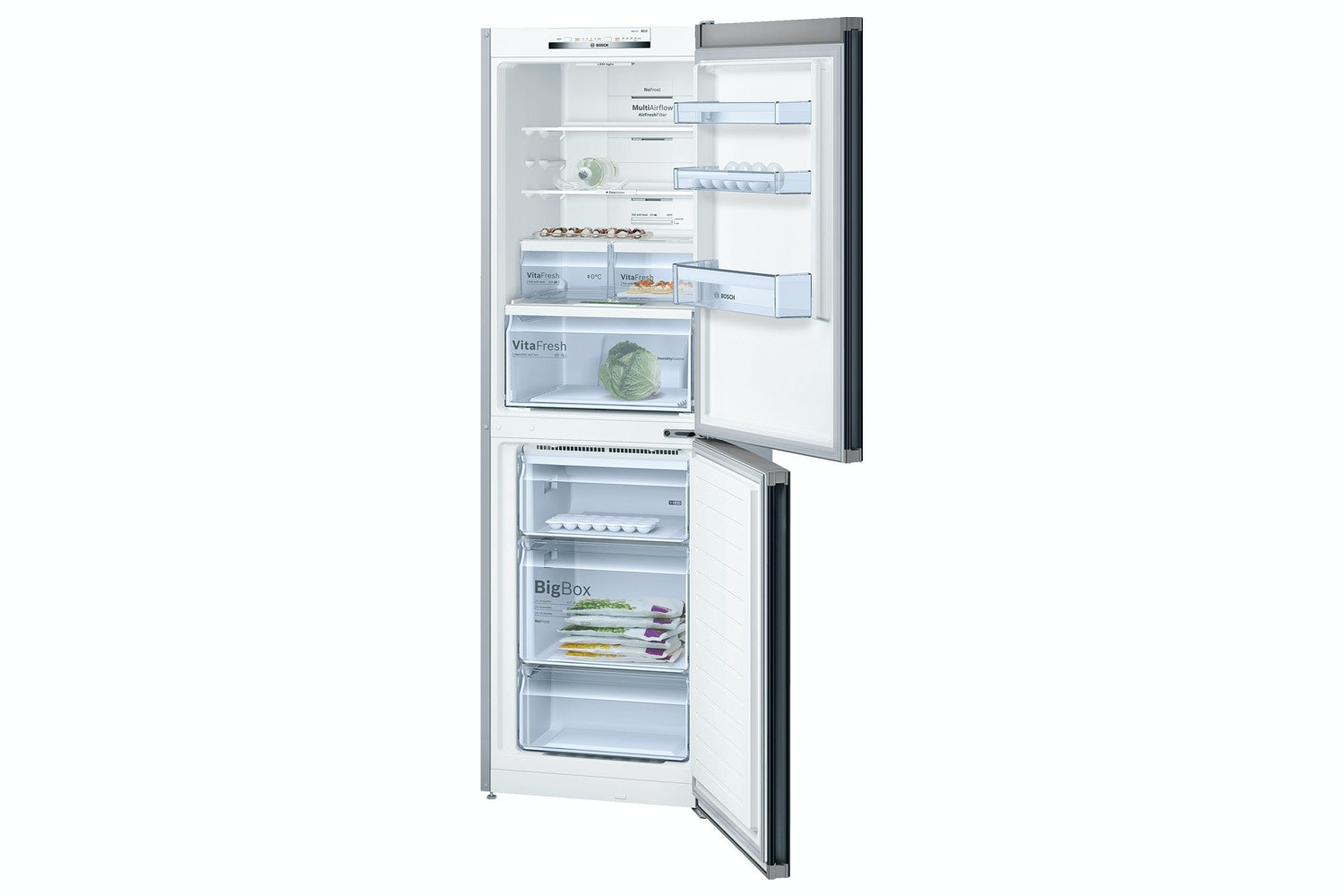 Bosch Series 4 Freestanding Fridge Freezer | KGN34VB35G