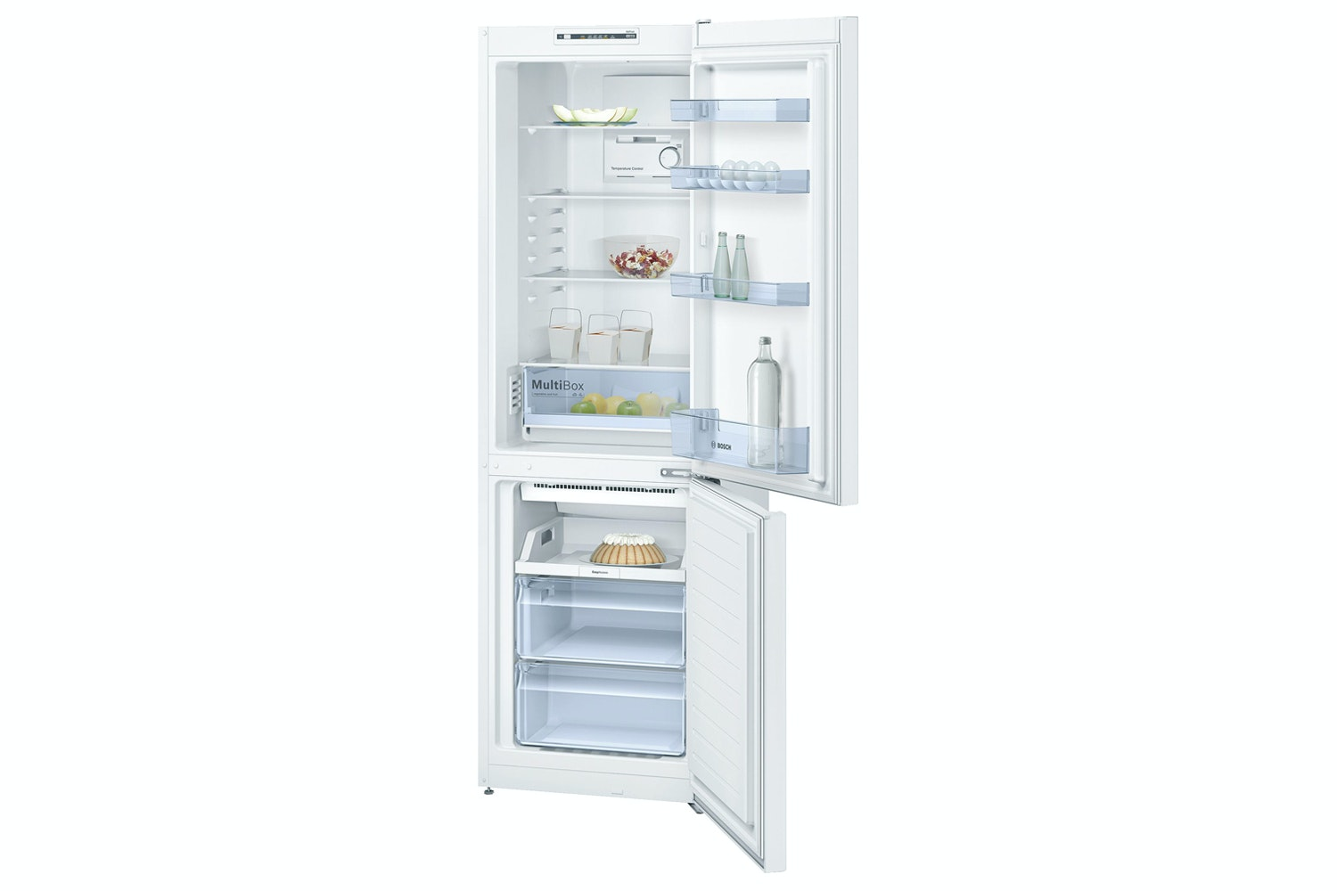 Bosch Series 2 Freestanding Fridge Freezer | KGN36NW30G