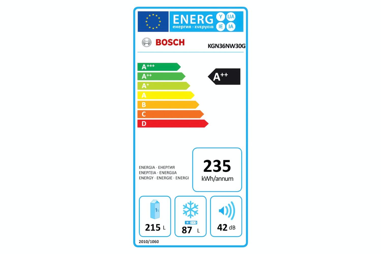 Bosch Series 2 Freestanding Fridge Freezer   KGN36NW30G