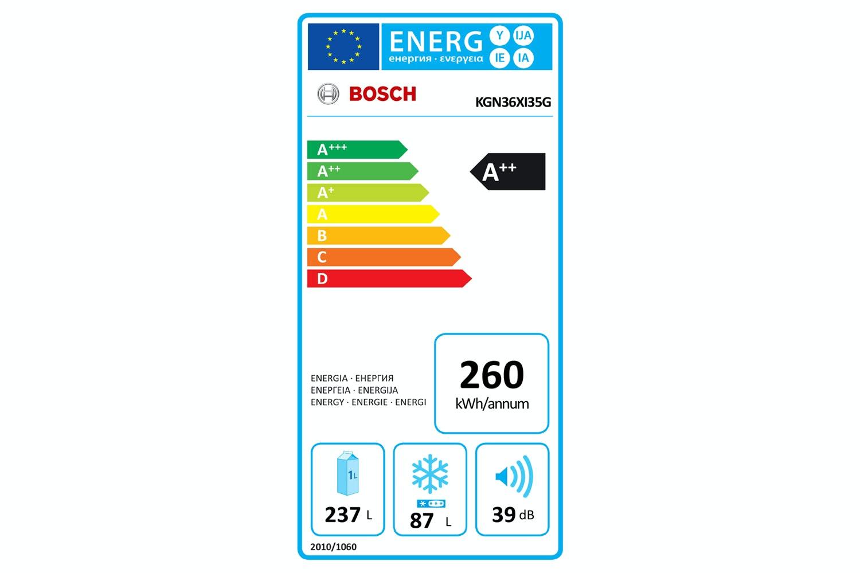 Bosch Series 4 Freestanding Fridge Freezer | KGN36XI35G