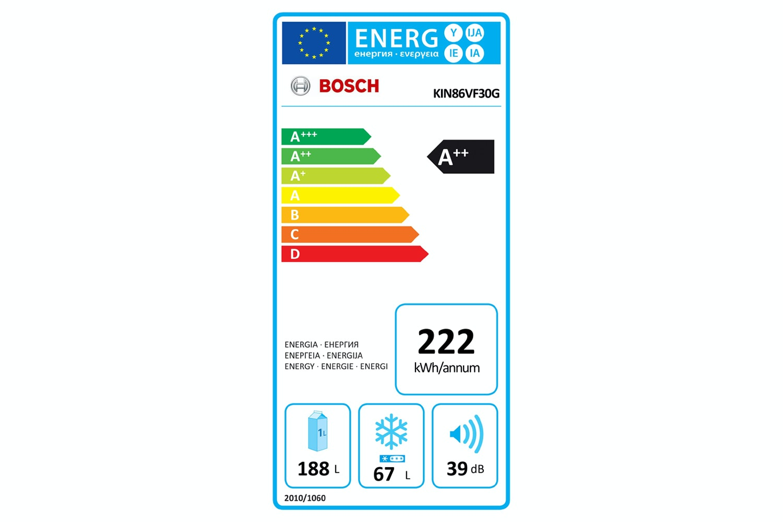 Bosch Series 4 Integrated Fridge Freezer | KIN86VF30G