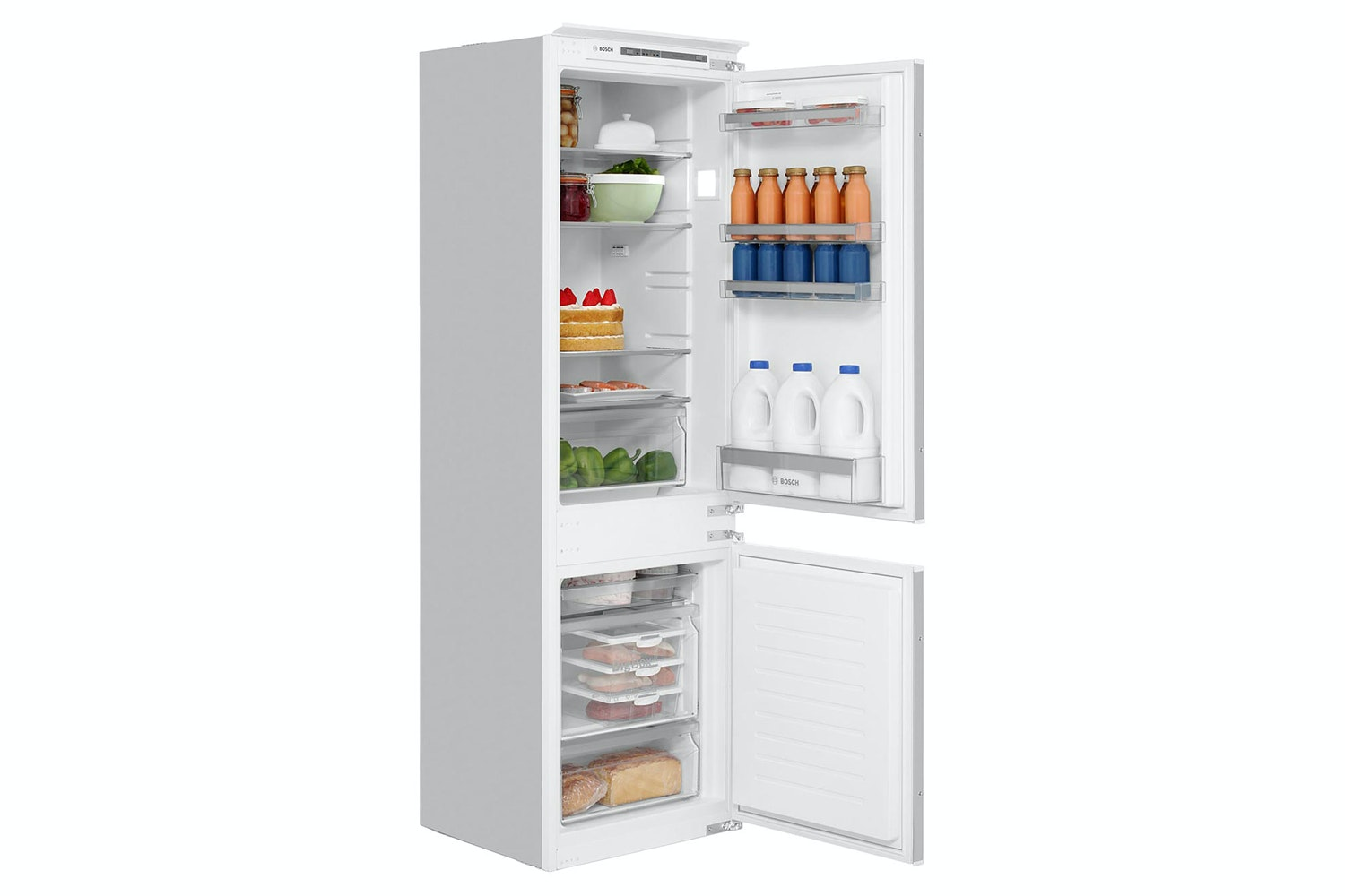 Bosch Series 4 Integrated Fridge Freezer | KIV86VS30G