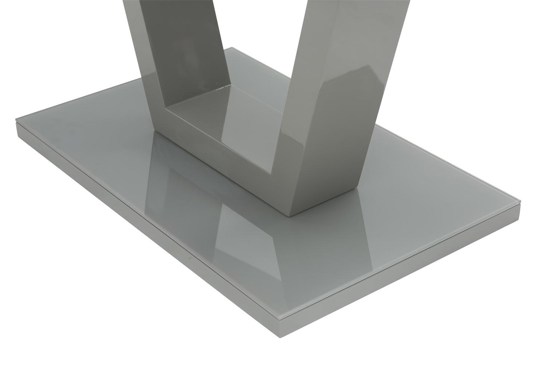 Oscar Dining Table   Grey