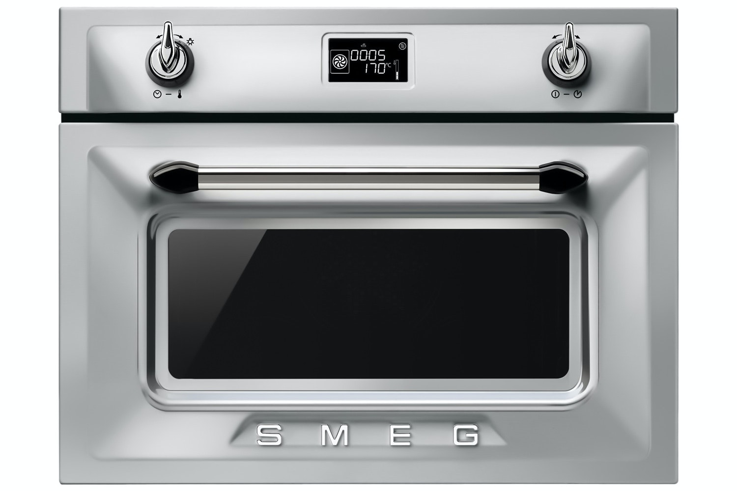 Smeg Compact Steam Oven | SF4920VCX | Stainless Steel