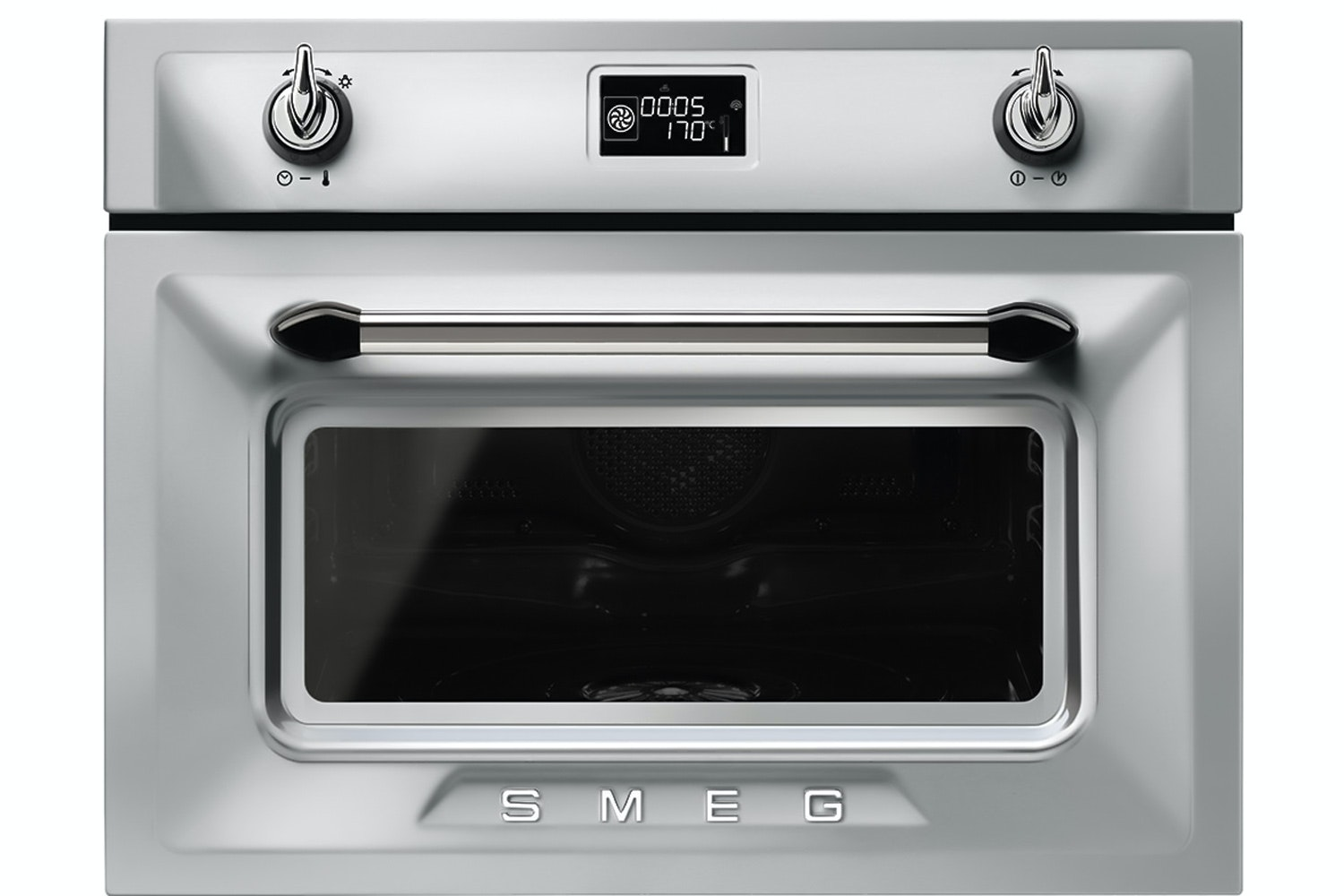 Smeg 40L 1000W Built In Combination Microwave | SF4920MCX | Stainless Steel