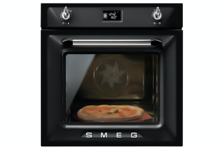 Smeg Built-in Single Oven   SF6922NPZE   Black