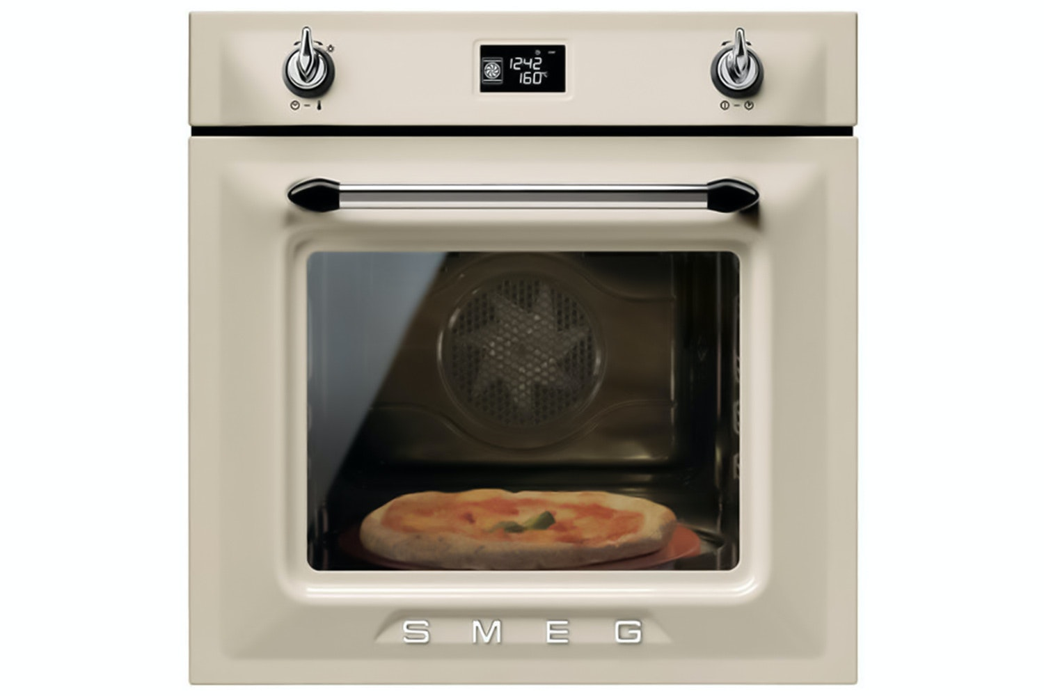 Smeg Built-in Single Oven | SFP6925PPZE | Cream