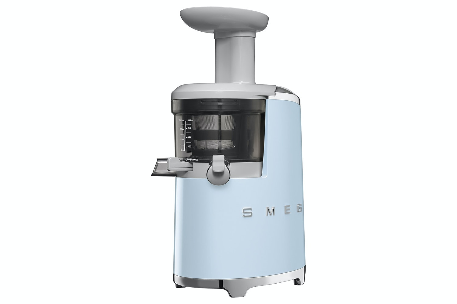 Smeg Retro Slow Juicer | Pastel Blue