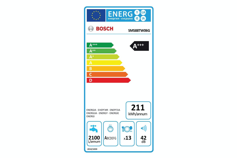 Bosch Series 8 Freestanding Dishwasher | SMS88TW06G