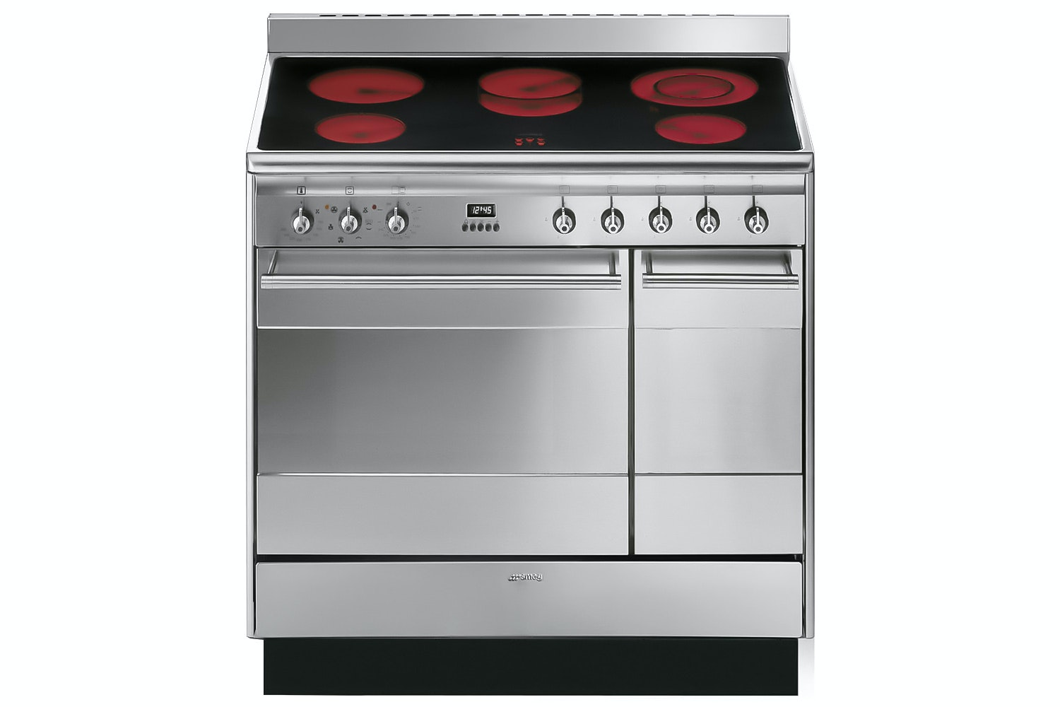 Smeg 90cm Electric Range Cooker | SUK92CMX9 | Stainless Steel