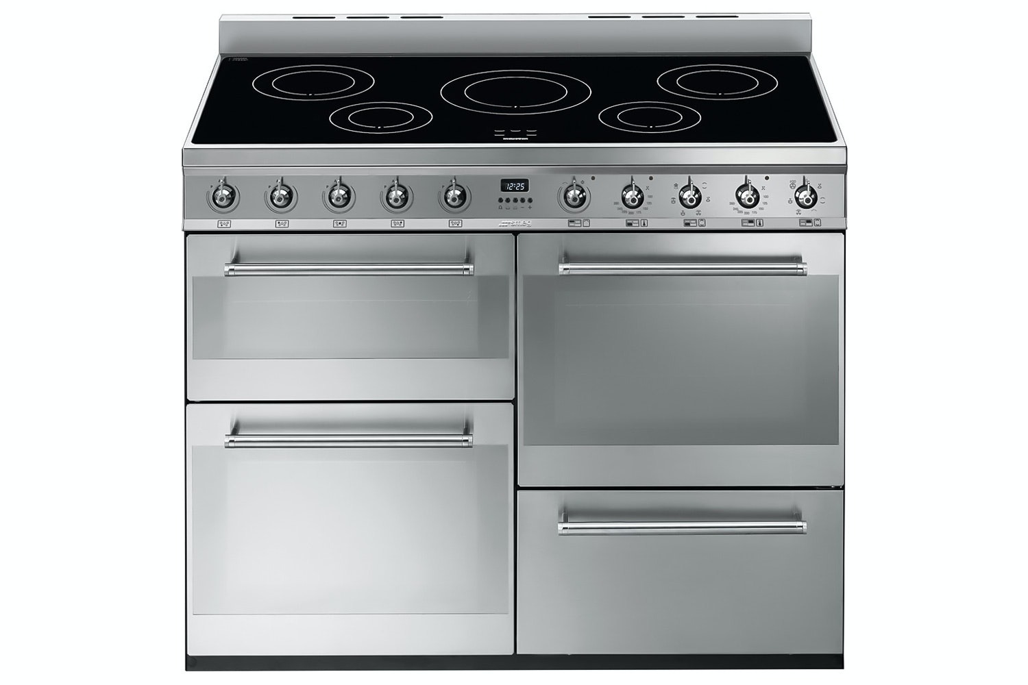Smeg 110cm Electric Range Cooker | SYD4110 | Stainless Steel
