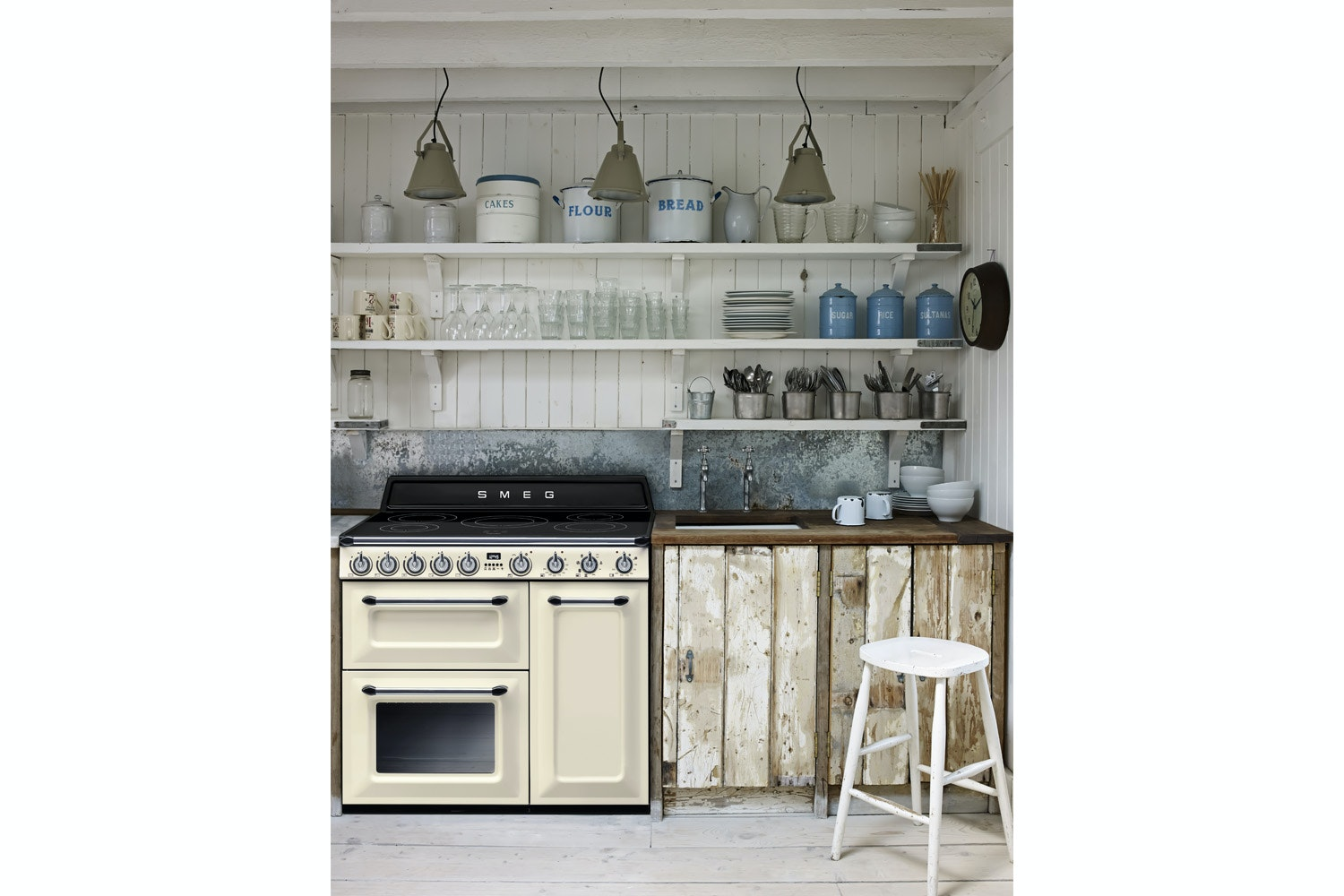 Smeg 90cm Electric Range Cooker | Cream
