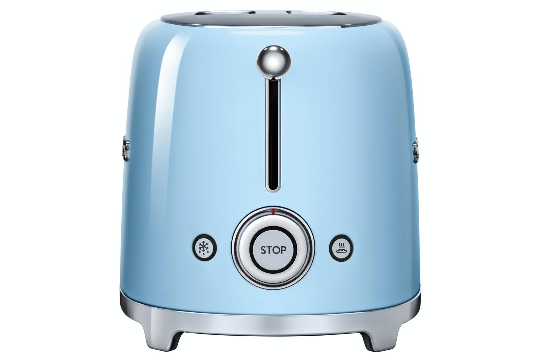 Smeg Retro 2 Slice Toaster | Pastel Blue