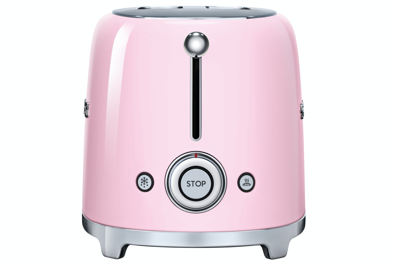 Smeg Retro 2 Slice Toaster | Pink