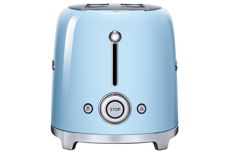 Smeg Retro 4 Slice Toaster | Pastel Blue
