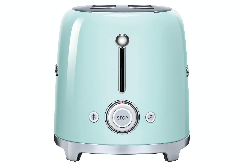Smeg Retro 4 Slice Toaster | Pastel Green