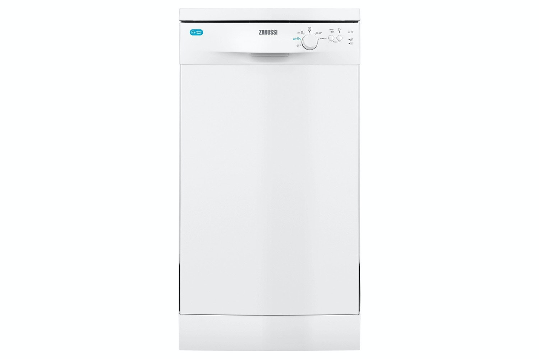 Zanussi Slimline Freestanding Dishwasher | 9 Place | ZDS12002WA