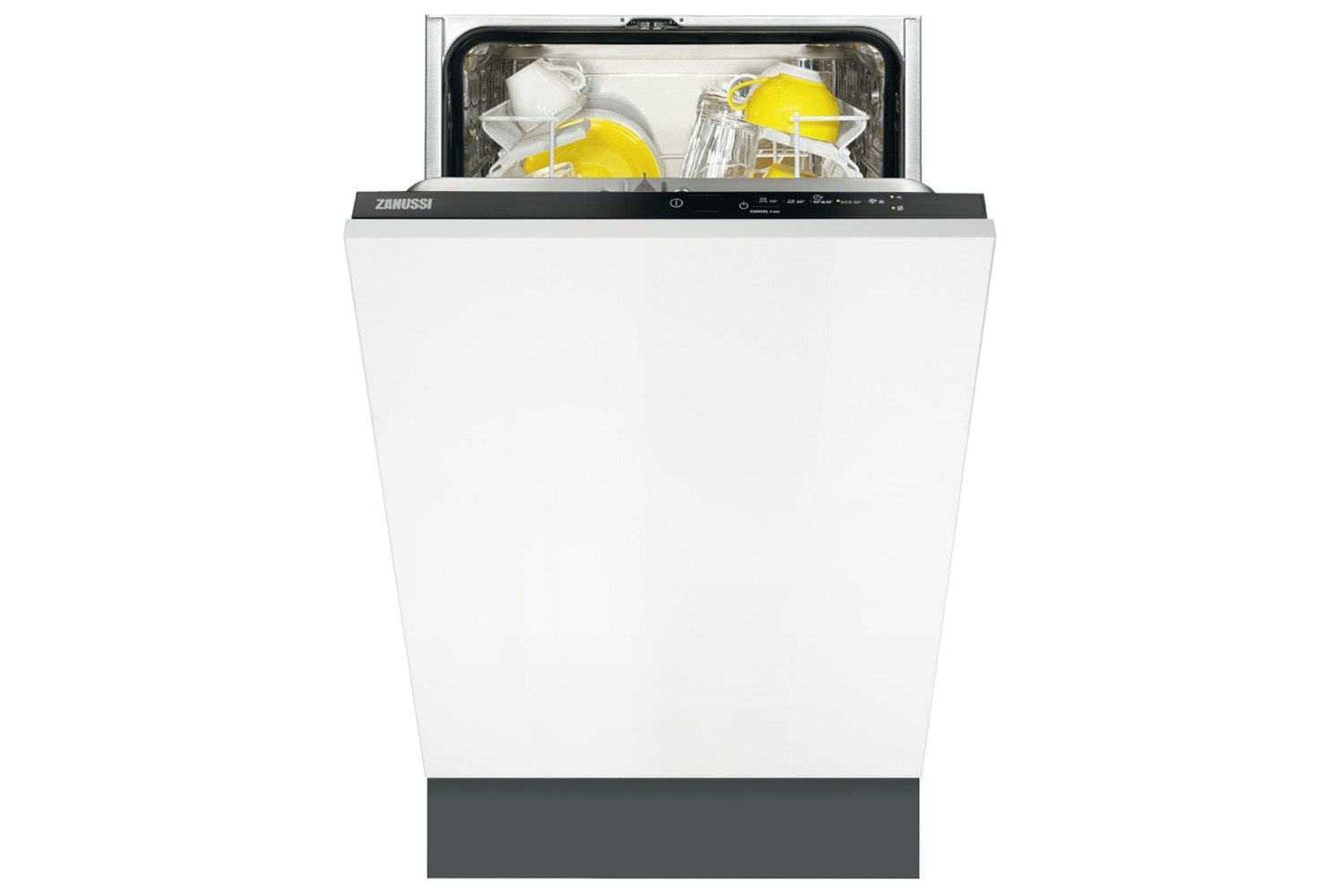 Zanussi Fully Integrated Slimline Dishwasher | 9 Place | ZDV12004FA