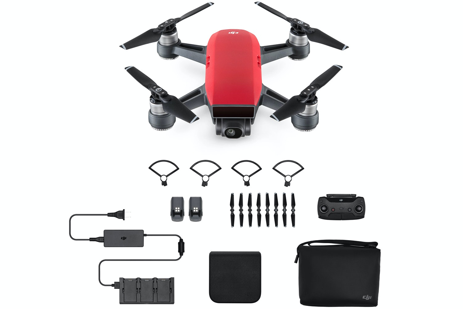 DJI Spark Fly More Combo | Lava Red