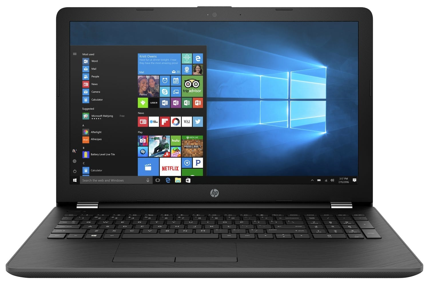 "HP Laptop 15.6"" AMD A9 