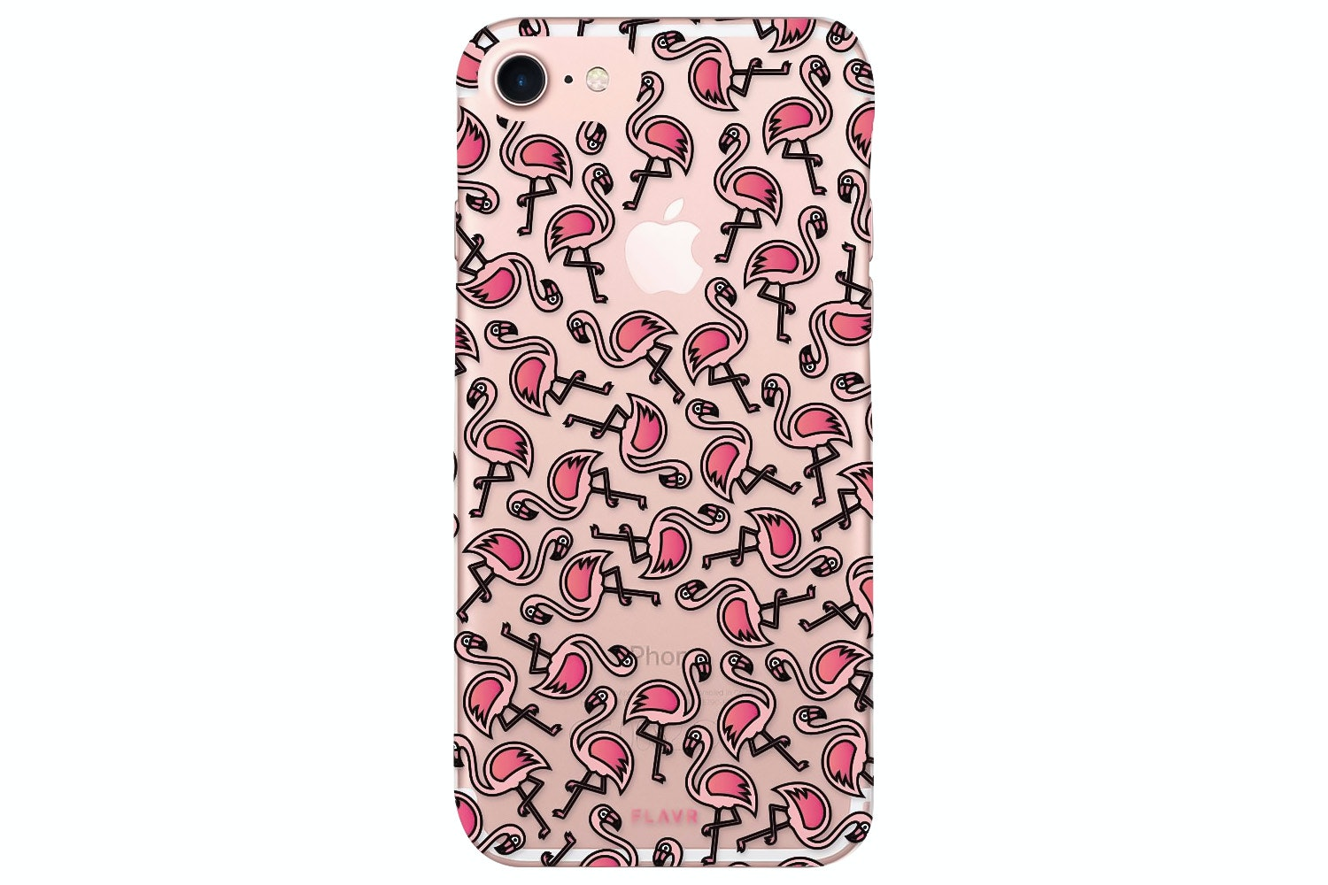 Flavr iPlate Flamingos for iPhone 7 | Multi Colour