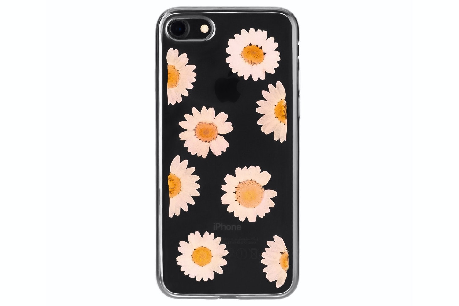 Flavr iPlate Real Flower Daisy for iPhone 6/6s/7 | Multi Colour
