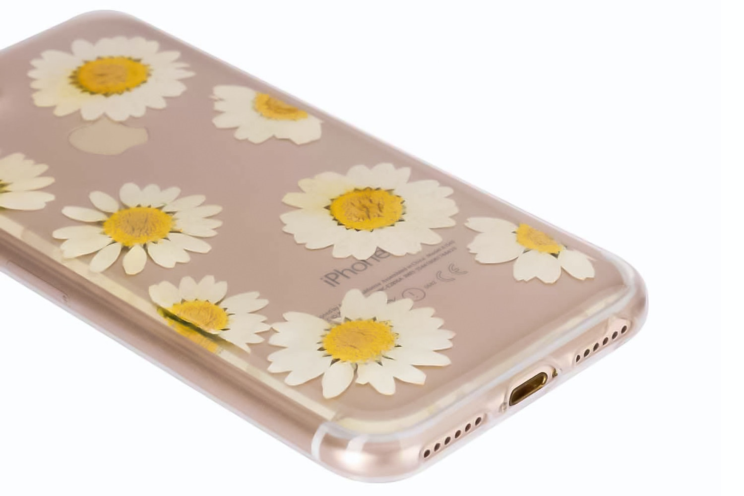 Flavr iPlate Real Flower Daisy for iPhone 6/6s/7   Multi Colour