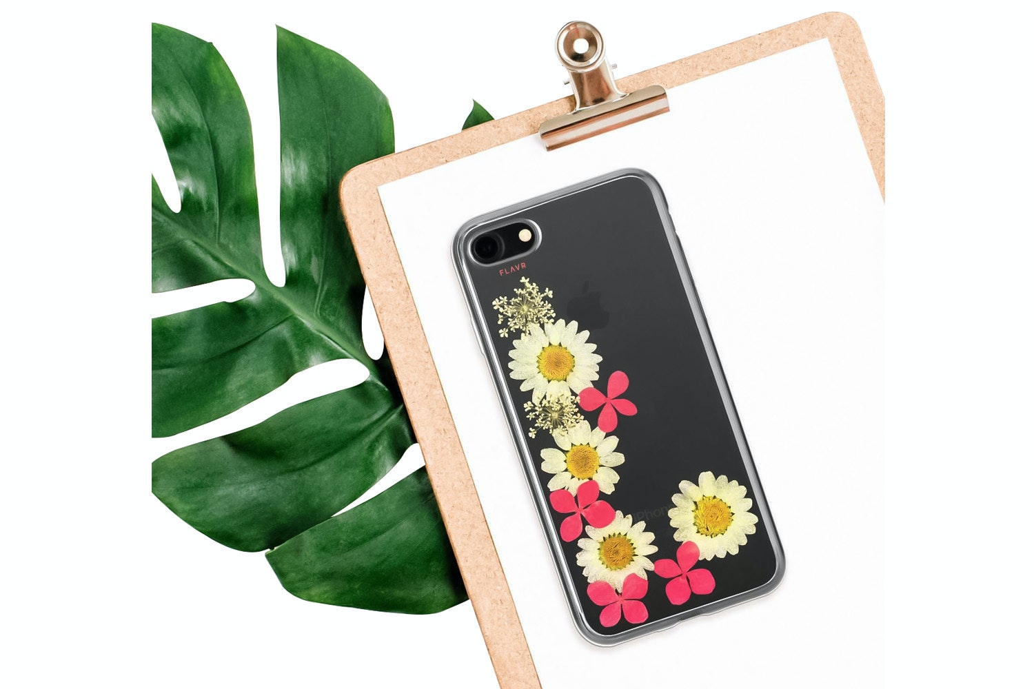 Flavr iPlate Real Flower Ella for iPhone 6/6s/7 | Multi Colour