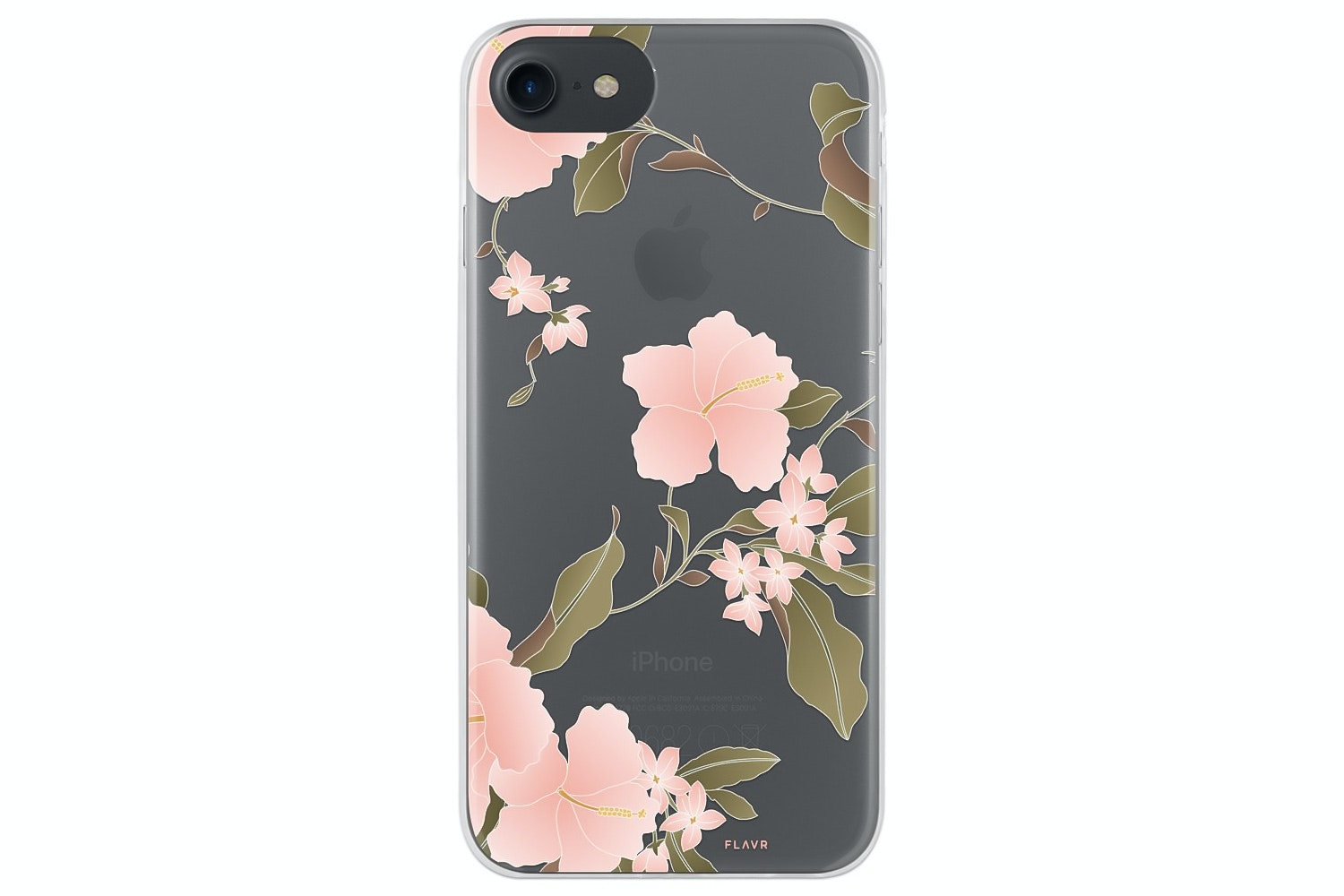 Flavr iPlate Hibiscus for iPhone 6/6s/7 | Multi Colour
