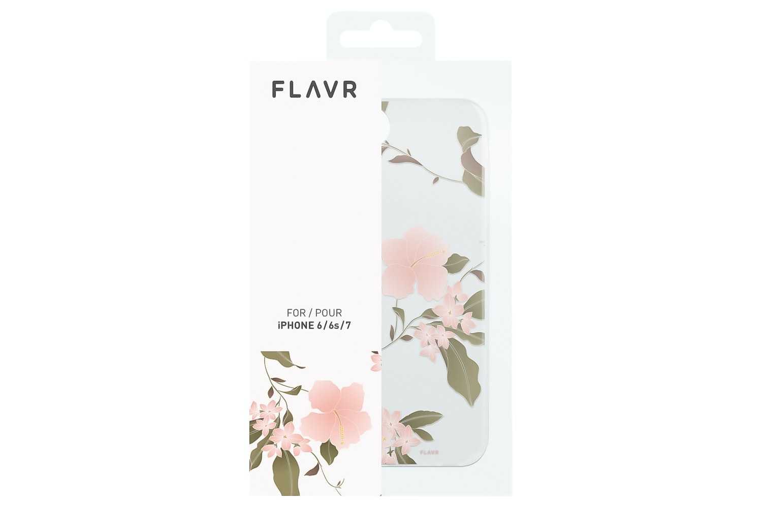 Flavr iPlate Hibiscus for iPhone 6/6s/7   Multi Colour