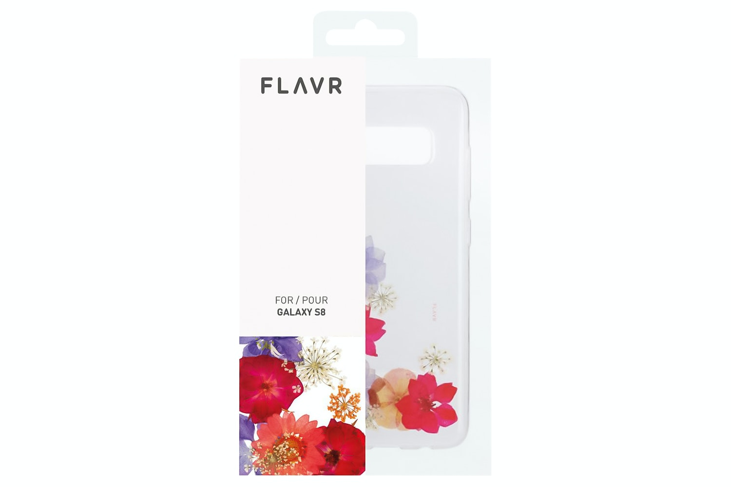 Flavr iPlate Real Flower Amelia Samsung Galaxy S8 | Multi Colour
