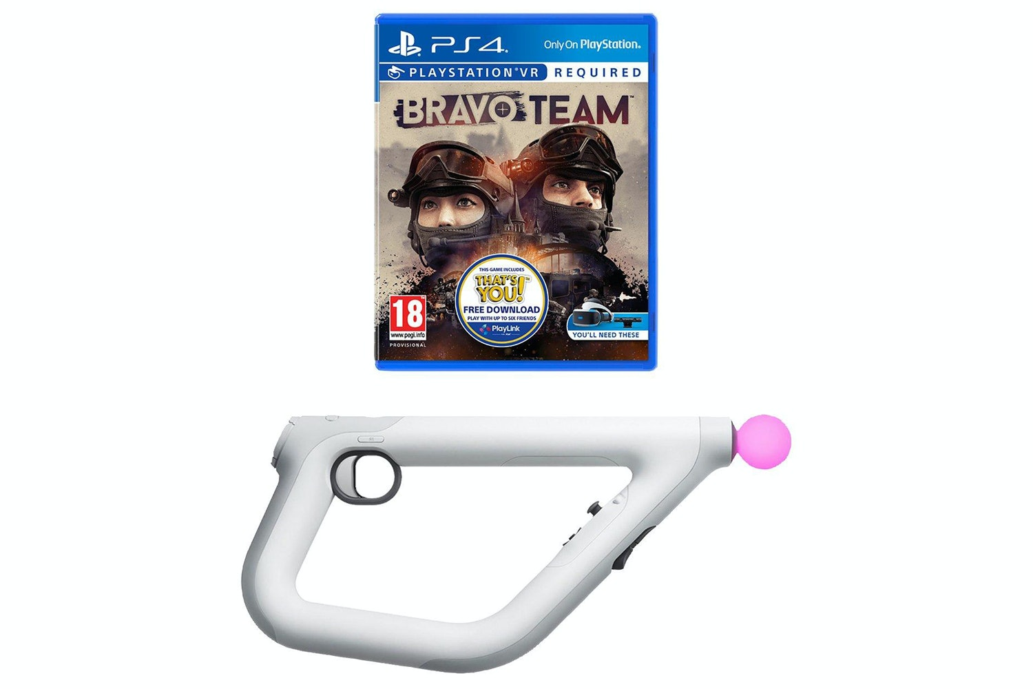 Bravo Team & Aim Controller | PS4