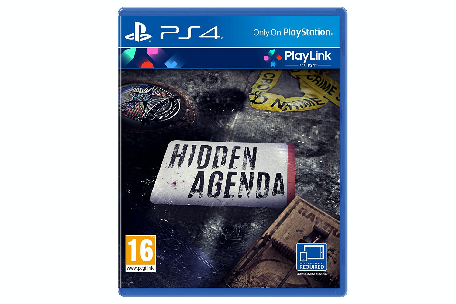 Hidden Agenda | PS4