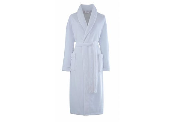 White Bathrobe
