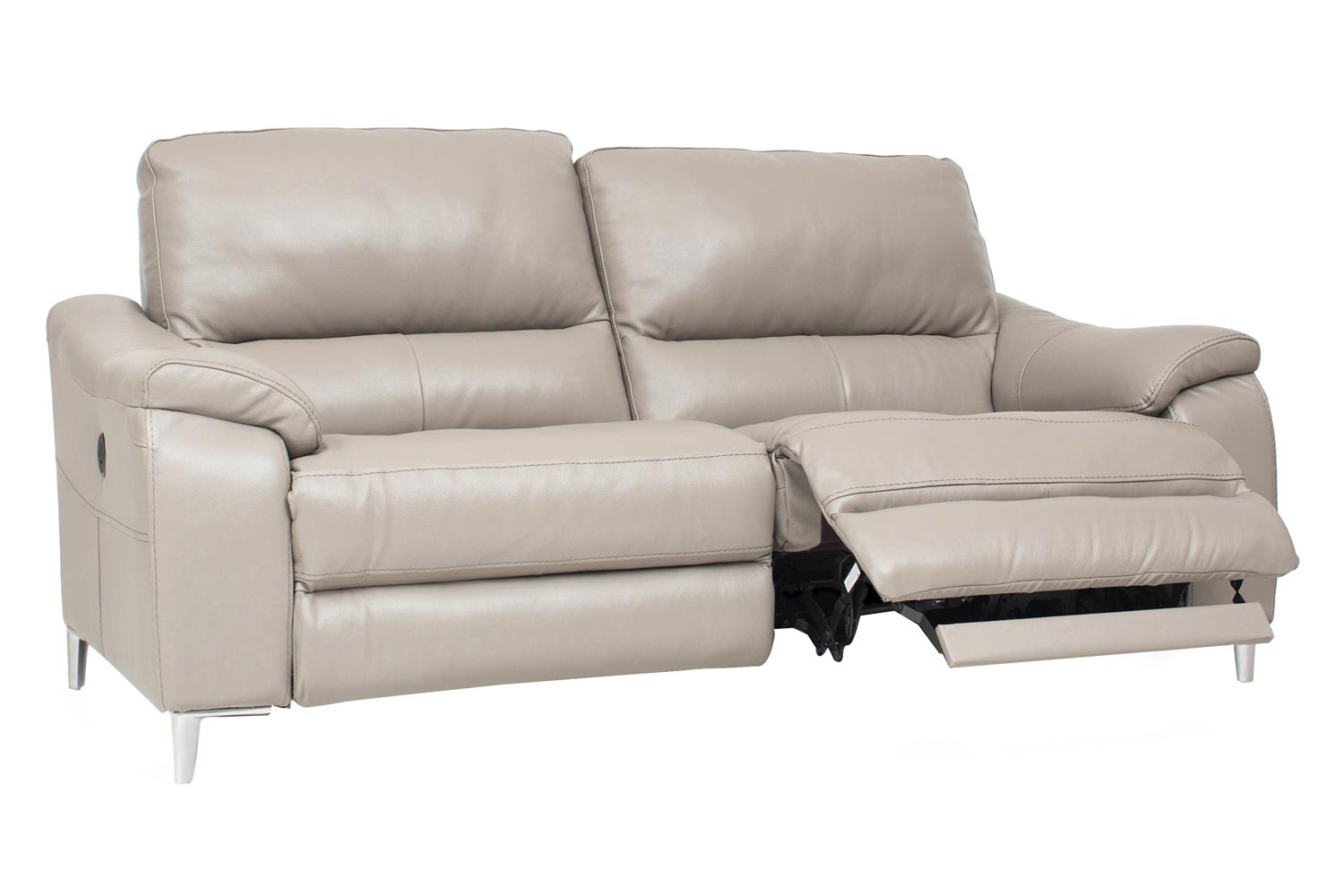 Yvezza 3 Seater Electric Recliner Sofa| Grey