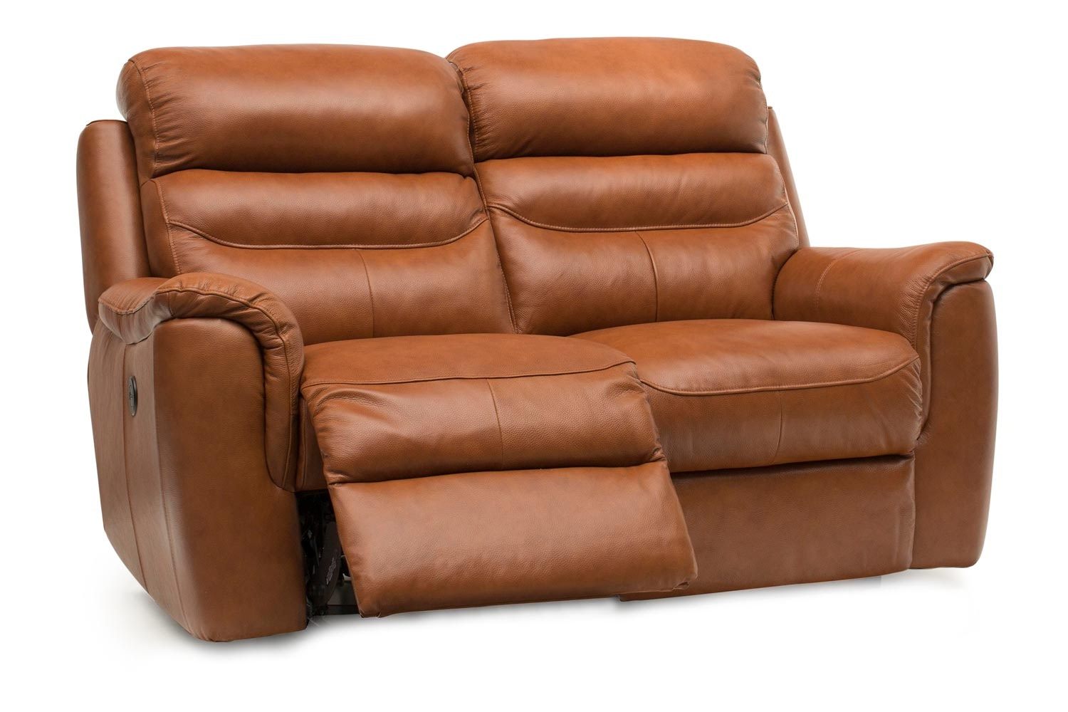 Bayle 2 Seater Leather Recliner Sofa | Electric