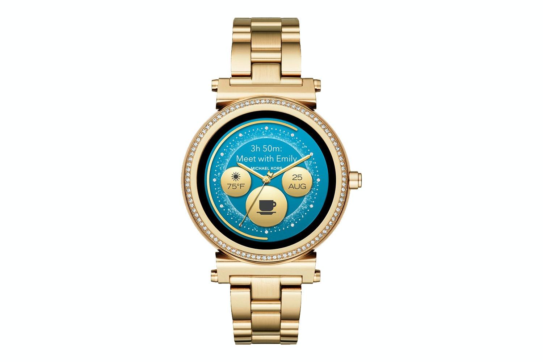 Michael Kors Sofie Pave Smartwatch | Gold