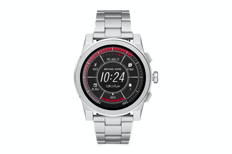 Michael Kors Grayson Silver-Tone Smartwatch