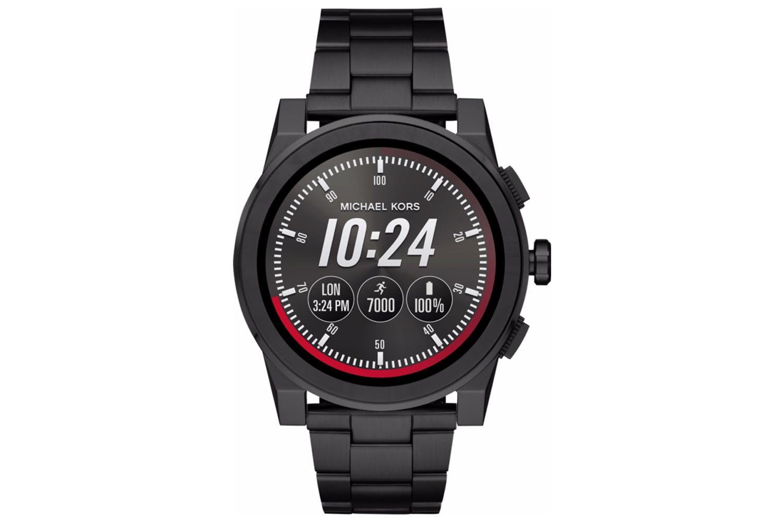 Michael Kors Grayson Black-Tone Smartwatch   Ireland 22f95ecbba