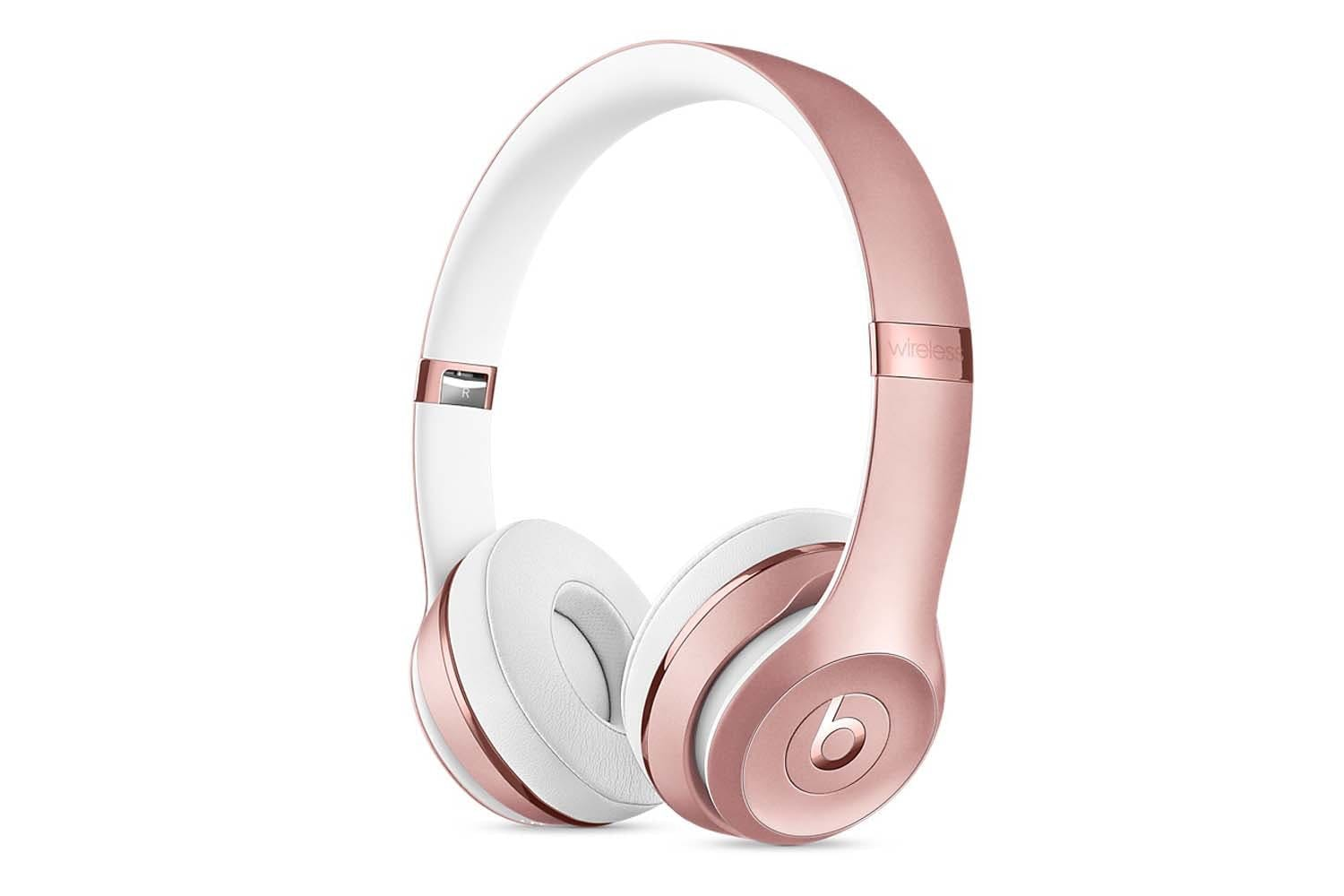 Beats Solo3 Wireless On Ear Headphones | Rose Gold