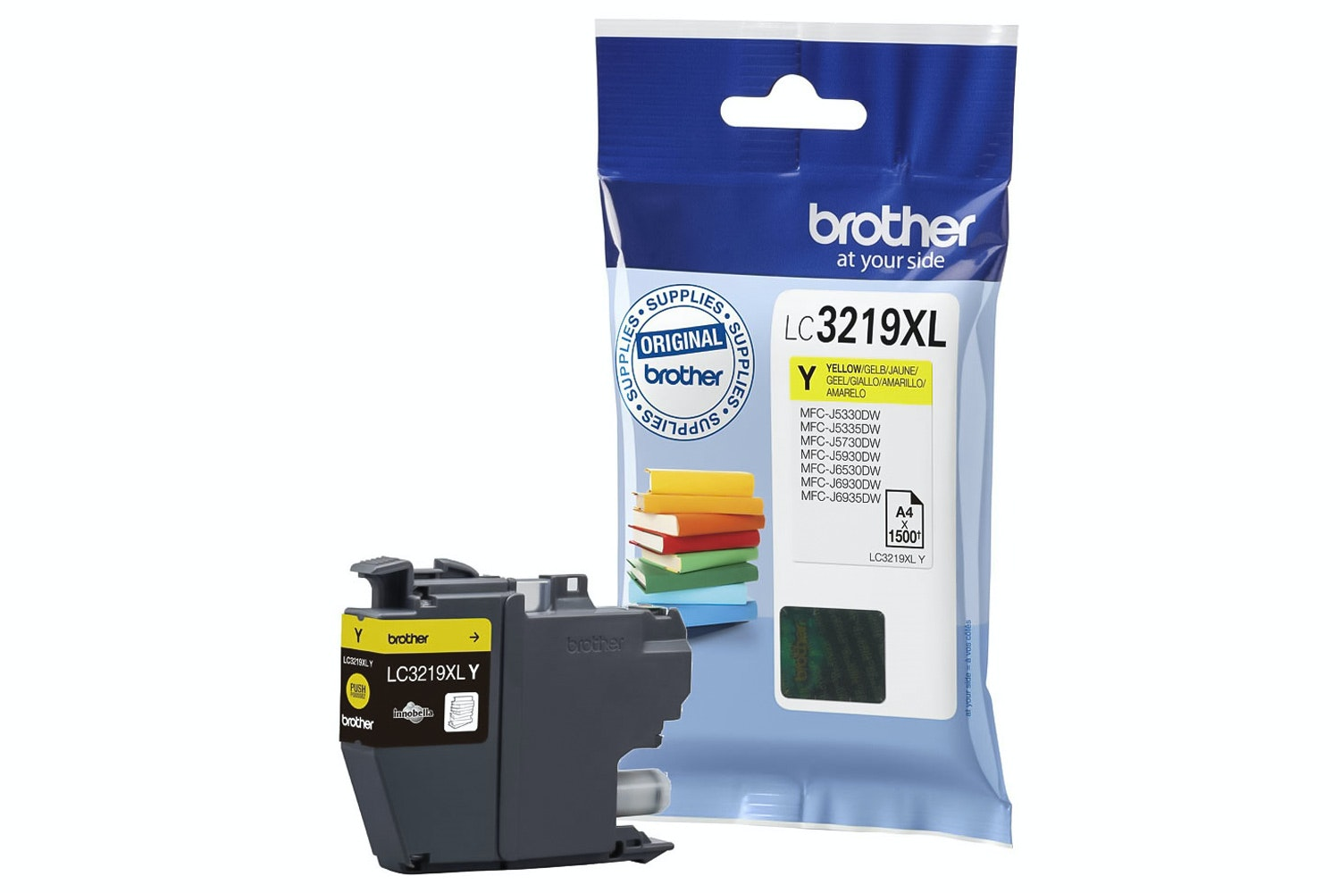 Brother LC3219XLY Yellow Ink